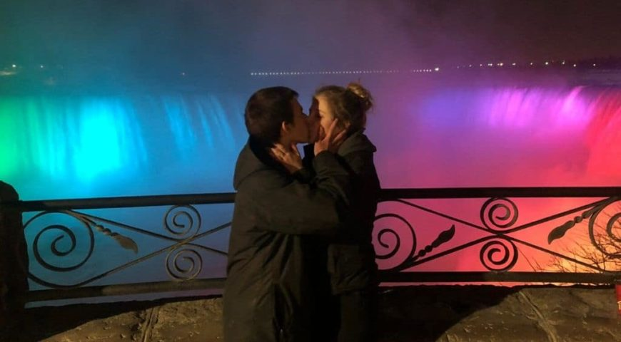Valentines Day in Niagara falls
